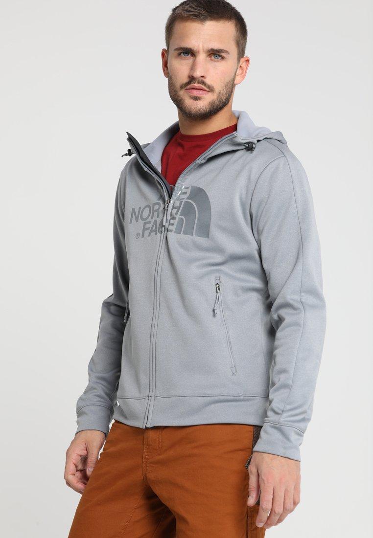 The North Face - TANSA HOODIE - Fleece jacket - mid grey