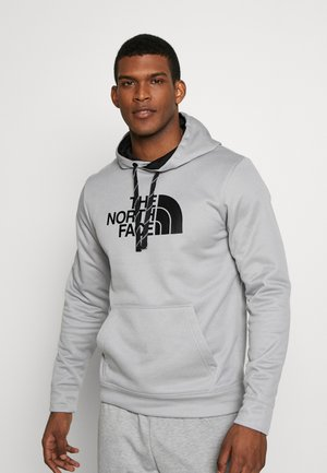 MENS SURGENT HOODIE - Hoodie - light grey heather
