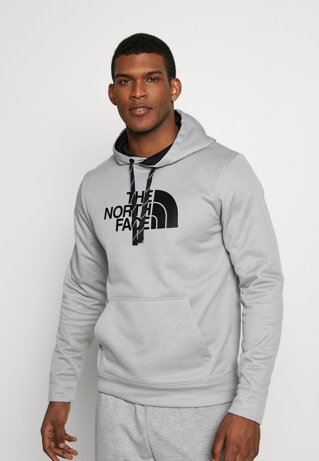 MENS SURGENT HOODIE - Huppari - light grey heather
