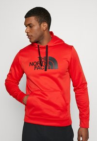 The North Face - MENS SURGENT HOODIE - Sweat à capuche - fiery red heather - 0
