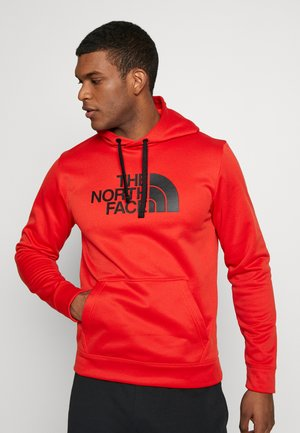 MENS SURGENT HOODIE - Huppari - fiery red heather