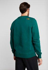 The North Face - MENS DREW PEAK CREW - Sweatshirt - night green - 2