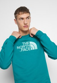 The North Face - MENS DREW PEAK CREW - Bluza - fanfare green - 3