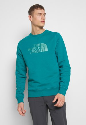 MENS DREW PEAK CREW - Collegepaita - fanfare green