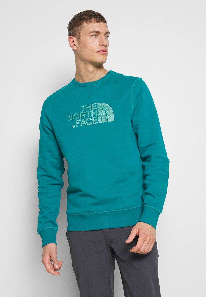 The North Face - MENS DREW PEAK CREW - Bluza - fanfare green