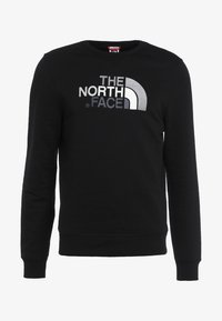 The North Face - DREW PEAK CREW - Sweatshirt - black - 4