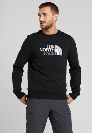 MENS DREW PEAK CREW - Collegepaita - black