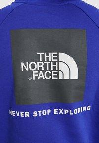 The North Face - RAGLAN BOX HOODIE - Sweat à capuche - lapis blue - 4
