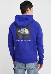 The North Face - RAGLAN BOX HOODIE - Sweat à capuche - lapis blue - 2