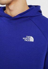 The North Face - RAGLAN BOX HOODIE - Sweat à capuche - lapis blue - 3