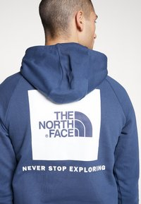 The North Face - RAGLAN BOX HOODIE - Bluza z kapturem - blue wing teal