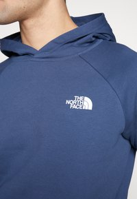 The North Face - RAGLAN BOX HOODIE - Bluza z kapturem - blue wing teal - 5