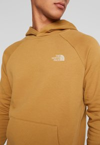The North Face - RAGLAN BOX HOODIE - Hoodie - british khaki - 4