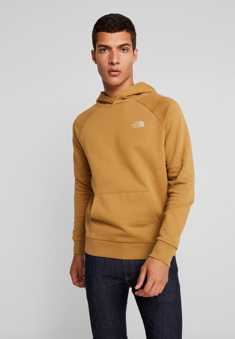 The North Face - RAGLAN BOX HOODIE - Hoodie - british khaki
