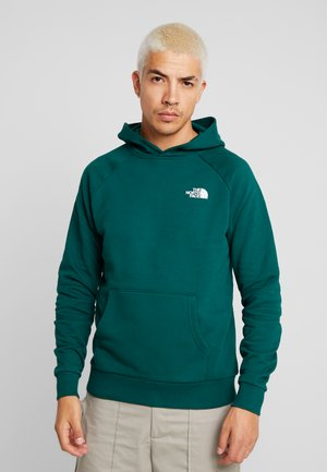 RAGLAN BOX HOODIE - Hoodie - night green