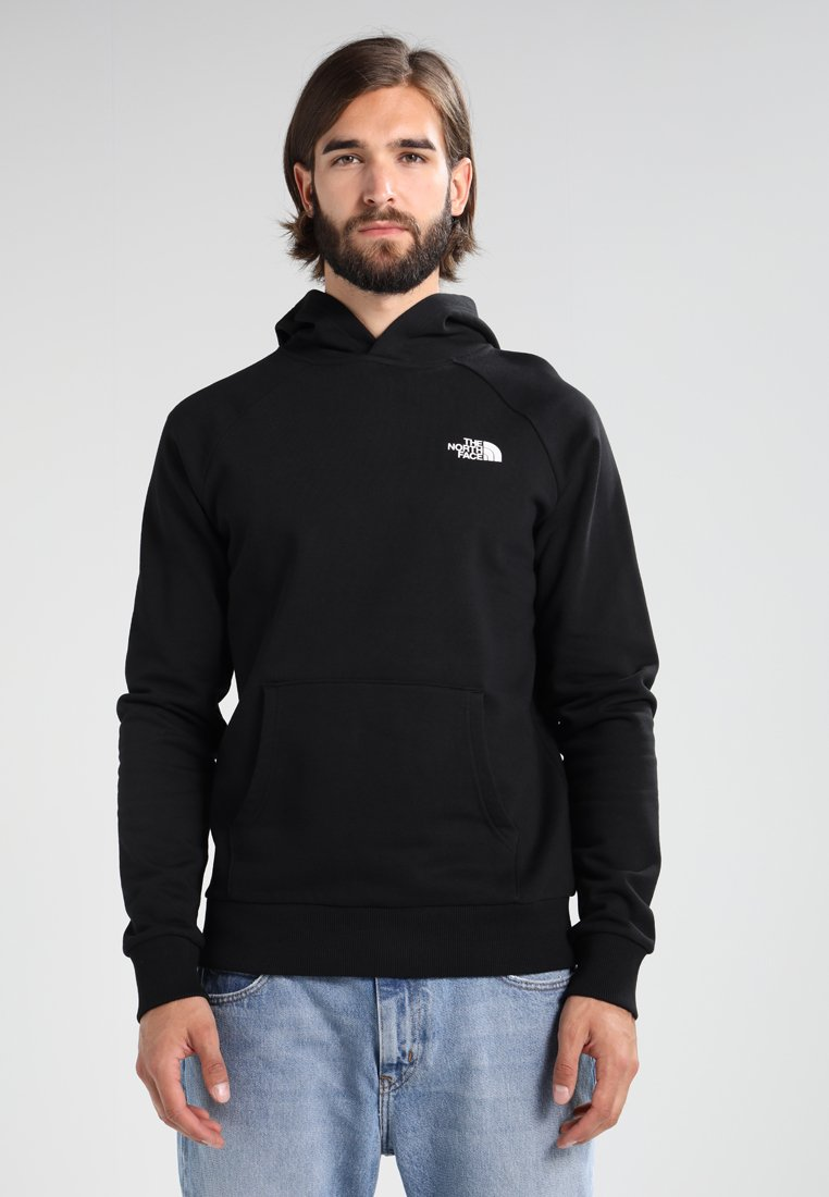 The North Face - RAGLAN BOX HOODIE - Kapuzenpullover - black