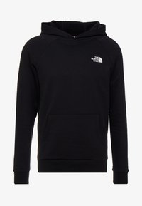 The North Face - RAGLAN BOX HOODIE - Huppari - black/white - 4