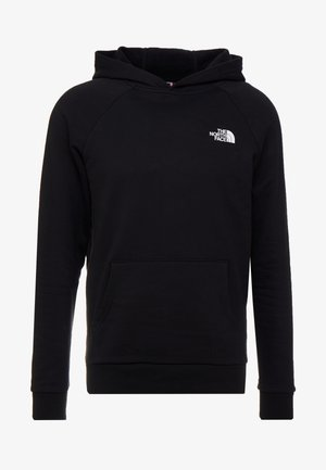 RAGLAN BOX HOODIE - Sweat à capuche - black/white