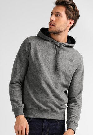 SEASONAL DREW PEAK - Bluza z kapturem - medium grey heather