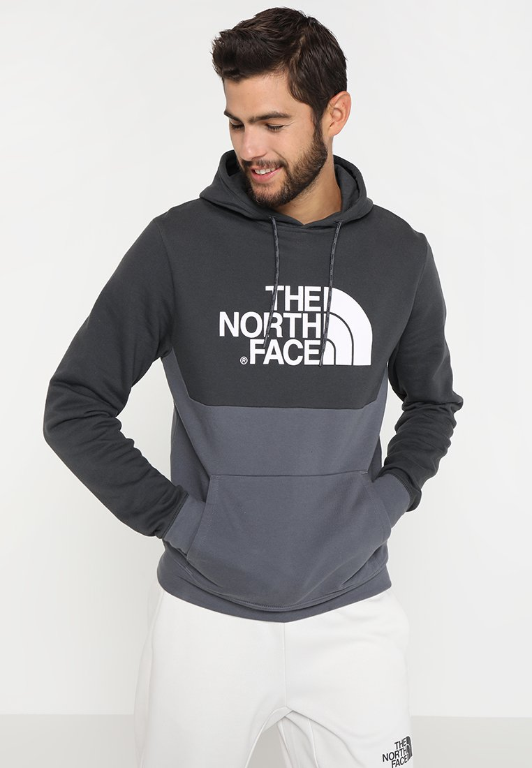 The North Face - CANYONWALL HOODIE - Jersey con capucha - asphalt grey/vanadis grey