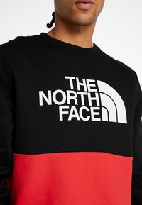 The North Face - CANYONWALL CREW - Sweatshirt - black/red - 3