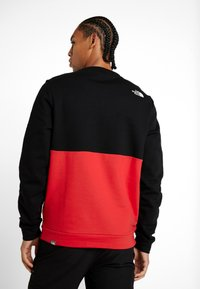 The North Face - CANYONWALL CREW - Sweatshirt - black/red - 2