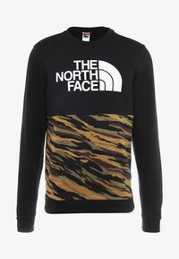 The North Face - CANYONWALL CREW - Sweatshirt - black/british kaki - 4