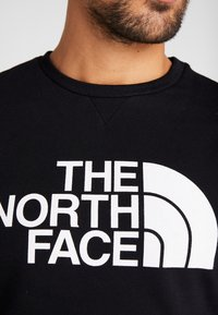 The North Face - CANYONWALL CREW - Sweatshirt - black/british kaki - 5