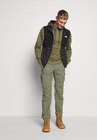 The North Face - Hoodie - burnt olive green - 1
