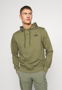 The North Face - Hoodie - burnt olive green - 0