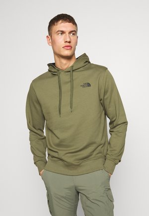 Bluza z kapturem - burnt olive green