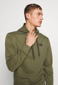 The North Face - Hoodie - burnt olive green - 3