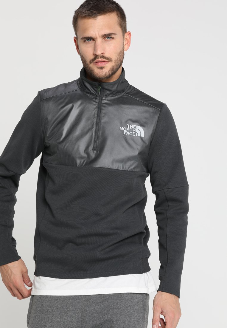 The North Face - VISTA ZIP  - Sweatshirt - asphalt grey