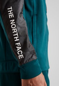 The North Face - OVERLAY - Träningsjacka - green/black