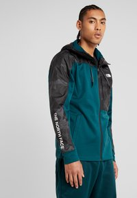 The North Face - OVERLAY - Träningsjacka - green/black - 0