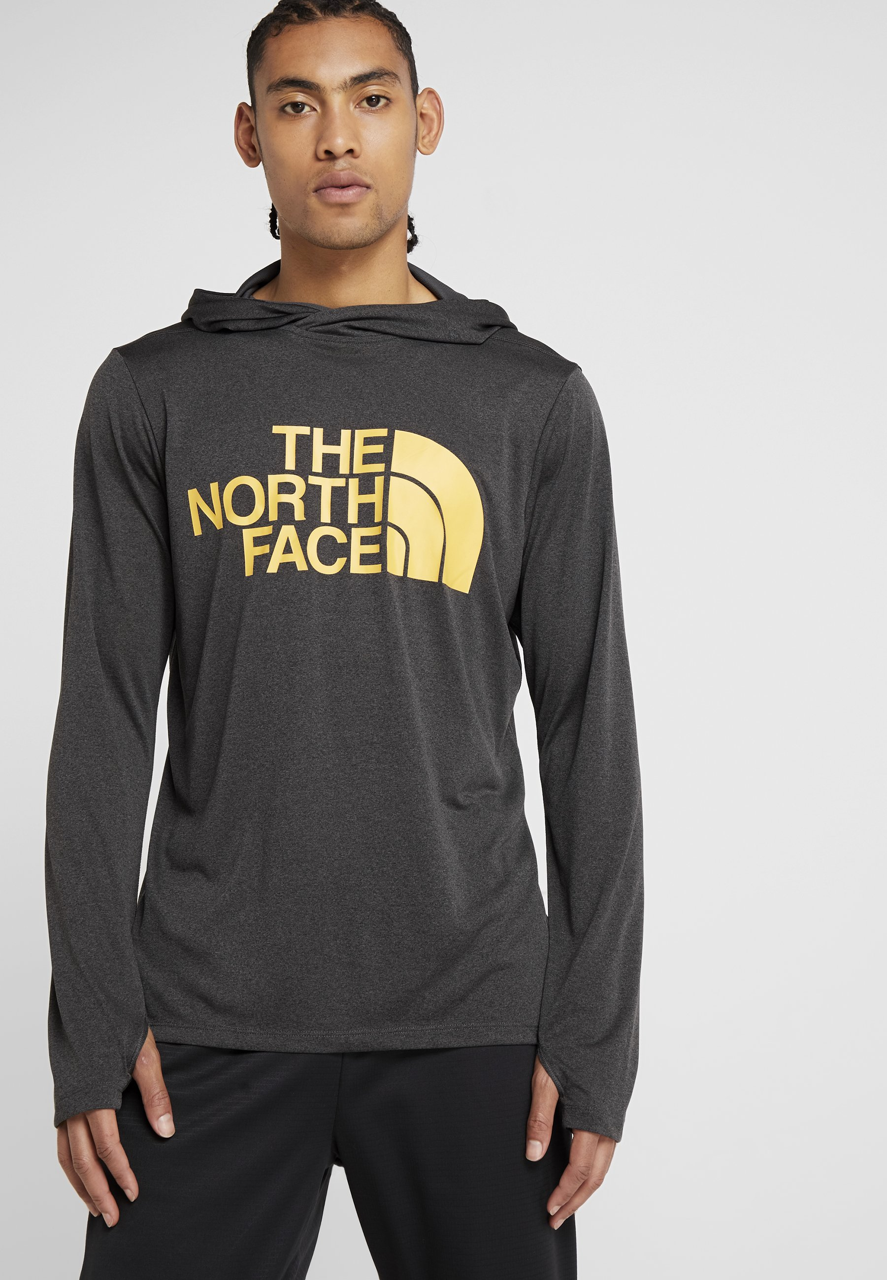 North Face Grey Big LogoT shirt Heather Sport The De Dark qSVUzMp