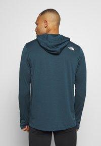 The North Face - BIG LOGO - Koszulka sportowa - blue wing teal heather - 2