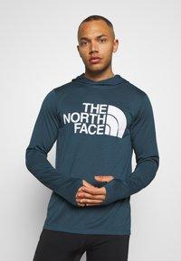 The North Face - BIG LOGO - Koszulka sportowa - blue wing teal heather - 0