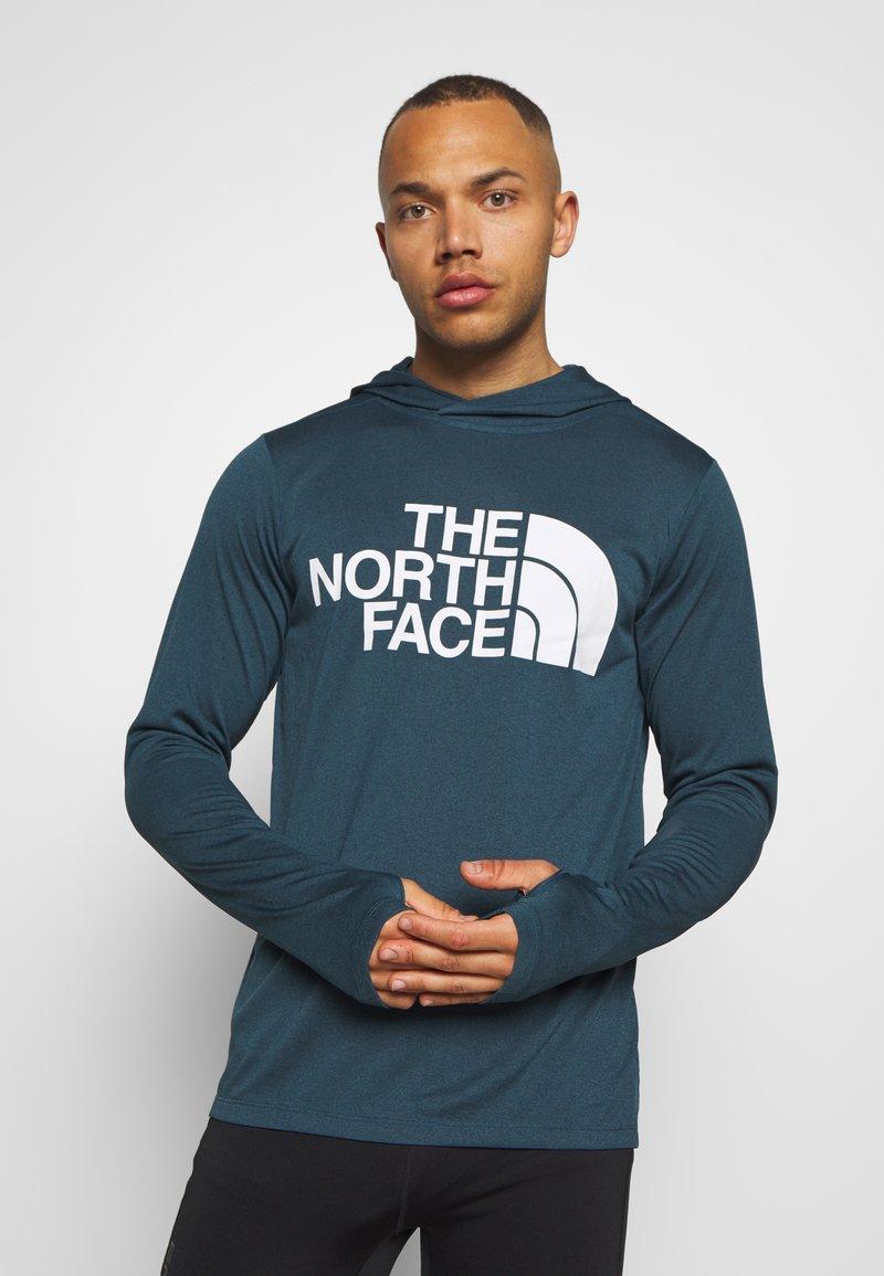 The North Face - BIG LOGO - Koszulka sportowa - blue wing teal heather