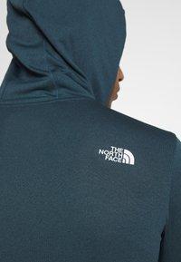 The North Face - BIG LOGO - Koszulka sportowa - blue wing teal heather - 6