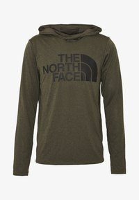 The North Face - BIG LOGO - Funktionsshirt - new taupe green heather - 4