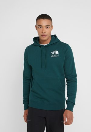 HIGHEST PEAKS HOODIE - Hoodie - night green