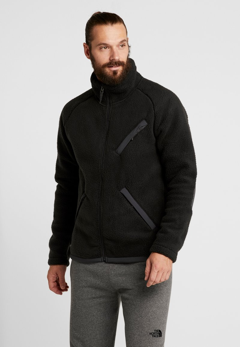 The North Face - CRAGMONT JACKET - Fleecová bunda - black