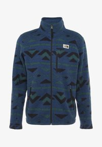 The North Face - GORDON LYONS NOVELTY - Fleecejacka - blue wing teal - 4