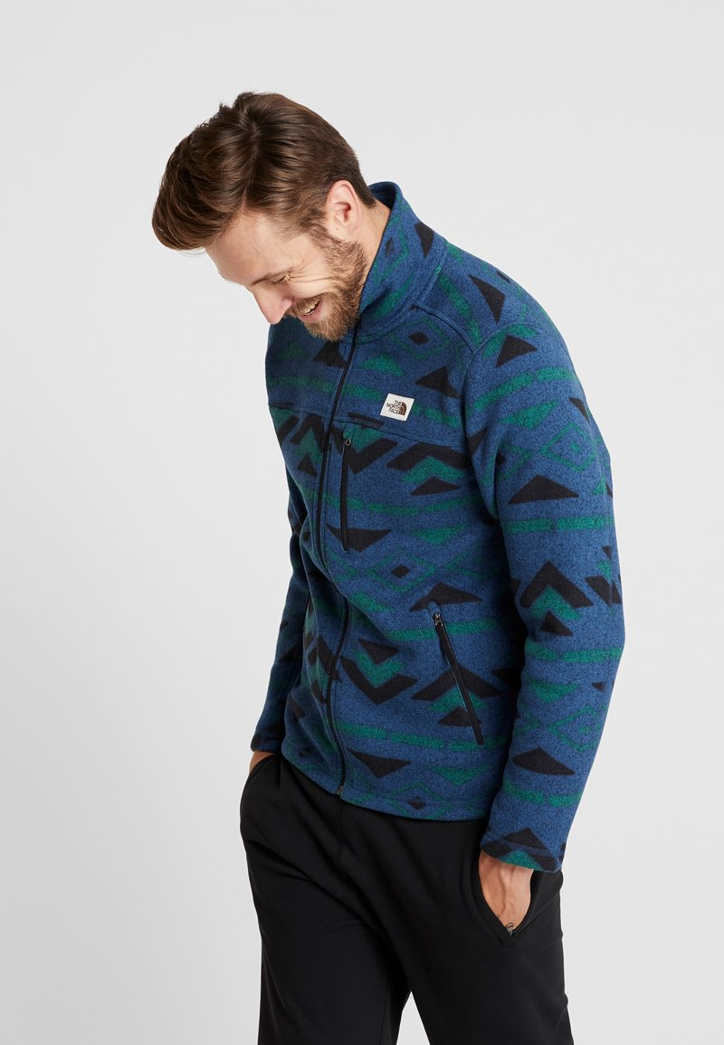 The North Face - GORDON LYONS NOVELTY - Fleecejacka - blue wing teal