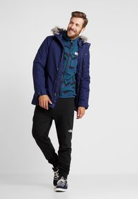 The North Face - GORDON LYONS NOVELTY - Fleecejacka - blue wing teal - 1