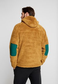 The North Face - CAMPSHIRE HOODIE - Fleece jumper - british khaki/night green - 2