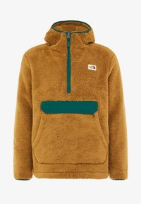 The North Face - CAMPSHIRE HOODIE - Fleece jumper - british khaki/night green - 3