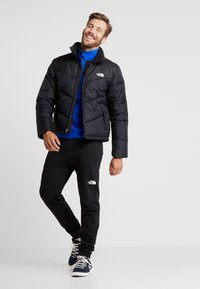 The North Face - GLACIER SNAP-NECK  - Fleece jumper - blue/black - 1