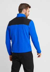 The North Face - GLACIER SNAP-NECK  - Fleece jumper - blue/black - 2